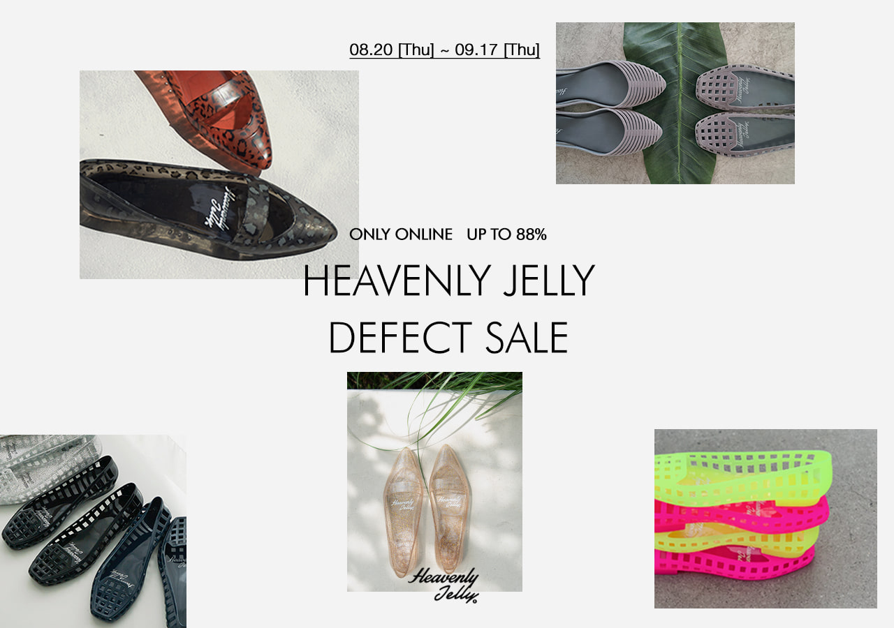HEAVENLY JELLY Defect Sale up to 88%!